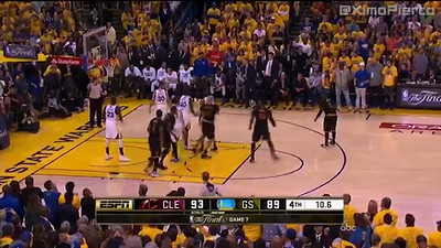 Lebron's free-throw