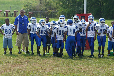 North Brunswick Indians Pee Wee Football 2011