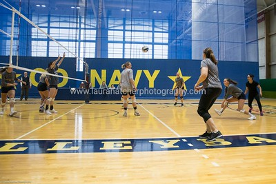 Navy Volleyball Alumni Game 2018