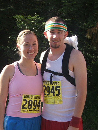 Avenue of the Giants (Half Marathon) - May 1, 2005