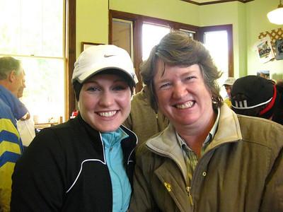 Rebecca and her mom!