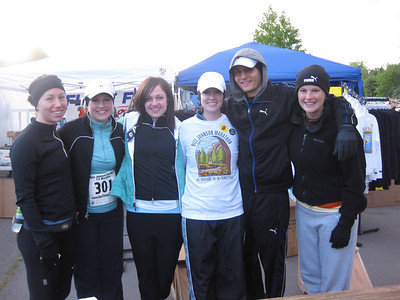 The runners before the race.