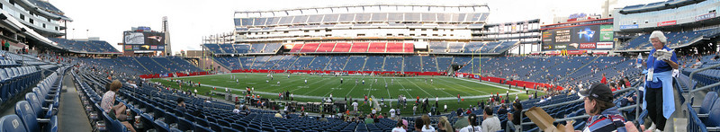 New England Patriots vs Philadelphia Eagles Pre-Season 2008
