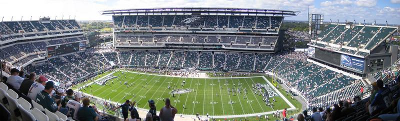 Philadelphia Eagles vs New York Giants week 2, 2006