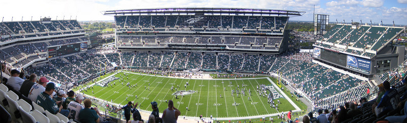 Philadelphia Eagles vs New York Giants week 2, 2006