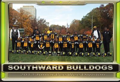 South Ward Bulldogs Pop Warner - Jr. Pee Wee Division