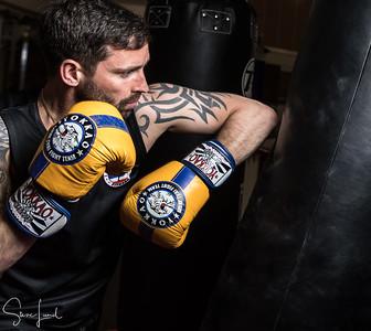 Visit to sparring session at Fort Regent