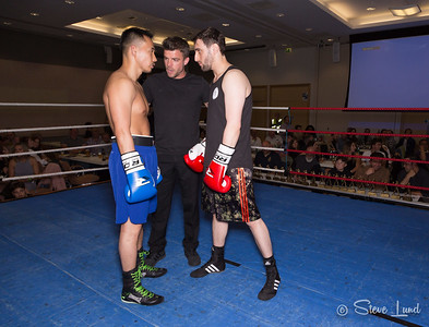 Fight 1 - Frank Quenault v Evan Tsung