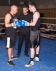 Fight 4 - Liam McGuinness v John Wallace