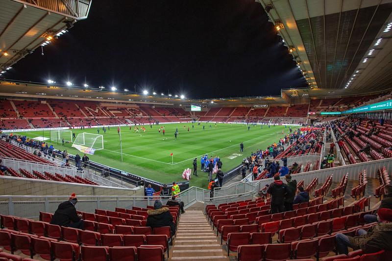 The Riverside Stadium, Middlesbrough