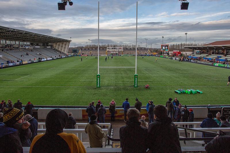 Falcons vs Edinburgh 16/12/18