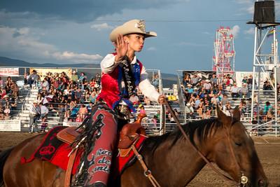 Sara Czmyrid , Queen of the 66th Anniversary Rodeo Santa Fe