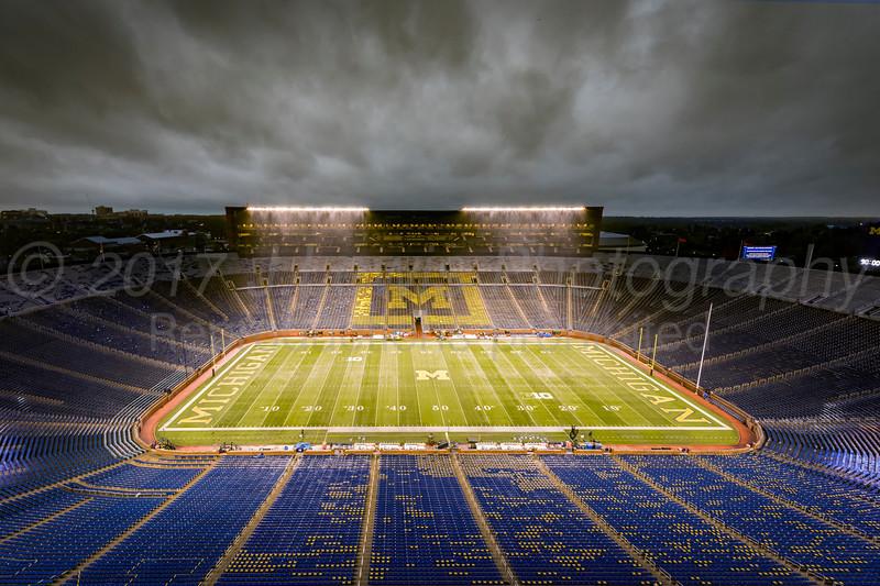 Michigan Football at Michigan