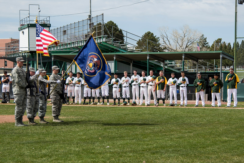 Clearfield hosted Davis High in regional baseball play at Clearfield High School, in Clearfield, on Friday, April 20, 2018.
