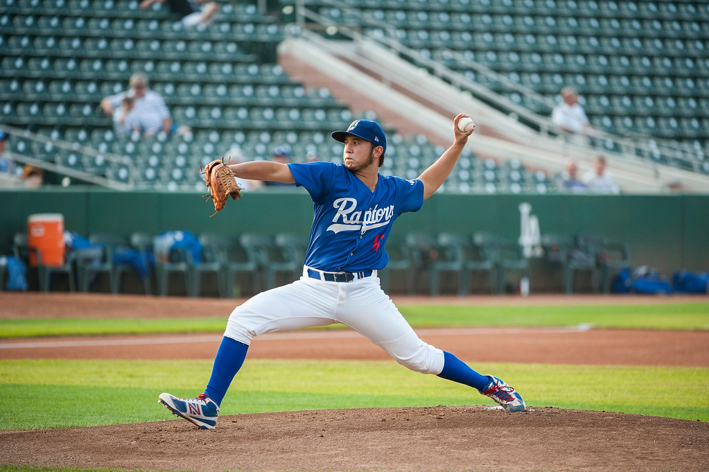 The Ogden Raptors beat the Helena Brewers 13-8 for the final night of a 4 game stretch in which they won 3 of the 4 games against the Brewers at Lindquist Field on August 20, 2015.
