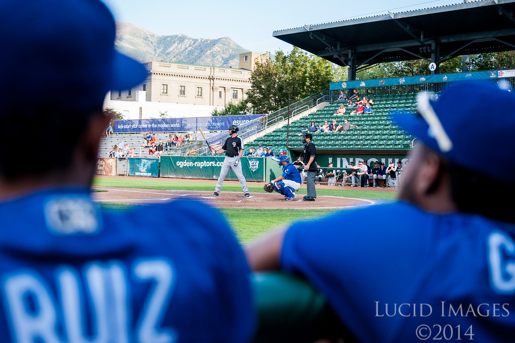 The Raptors pull to 2-1 in the 4 game series against the Grand Junction Rockies with a 6-5 at Lindquist Field in Ogden on August 26, 2016.