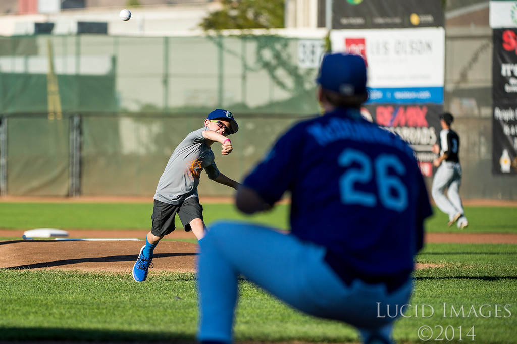 Raptors pull out a 10th inning win after getting down early against the Grand Junction Rockies to win the series 3-1 at Lindquist Field, in Ogden, on August 27, 2016.