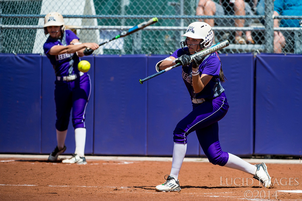Weber State defeated Idaho State 6-0 at the Big Sky Softball Championship playoffs at Weber State University on May 13, 2016. Sara Hingsberger (17) hit a three run home run in the first inning and the Wildcats kept up their momentum to shut out Idaho State.