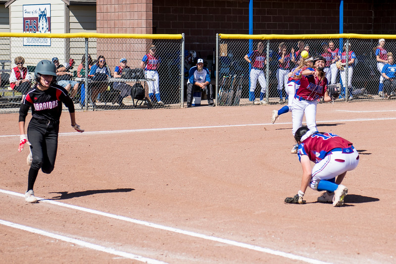 Fremont defeated Weber 2-1 after both teams had a slow start, leaving many runners stranded on bases and taking until the fifth inning for either team to score, at Fremont High School, in Plain City, on Tuesday, May 1, 2018.