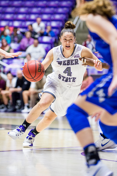 Air Force kept the game close until the final minutes of the game, when Weber pulled ahead after a pair of clutch three pointers that allowed them to seal their lead and win the game 62-52, at the Dee Events Center, in Ogden, on Saturday, December 9, 2017.