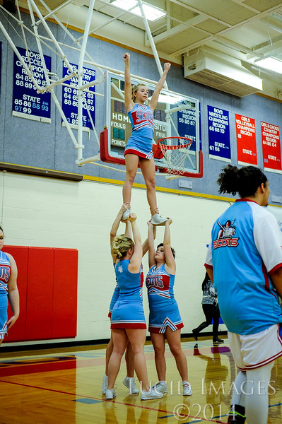 The Ben Lomond Scots hosted the Tooele High Buffaloes at Ben Lomond High School on January 30, 2015.