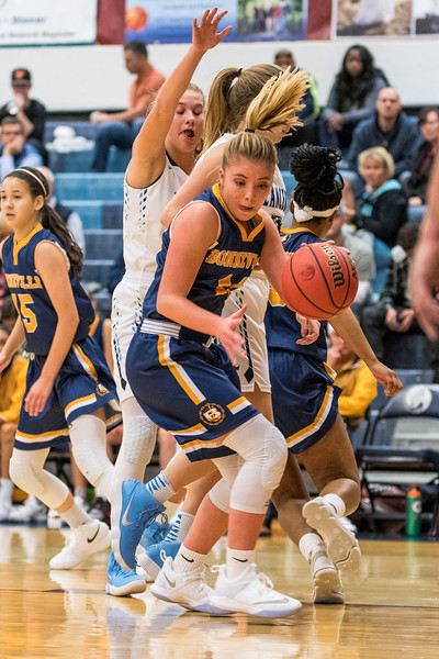 The Layton Lancers took command of the game early and never let up against the Bonneville Lakers, winning 42-24 at Layton High School, in Layton, on Tuesday, November 21, 2017.