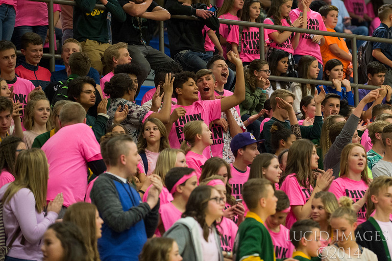 Wahlquist Junior High dominated the Girls Weber School District Basketball Championship Game against T.H. Bell Junior High, winning 62-34 in front of a capacity crowd at Bonneville High School in Washington Terrace, on Friday, March 24, 2017.