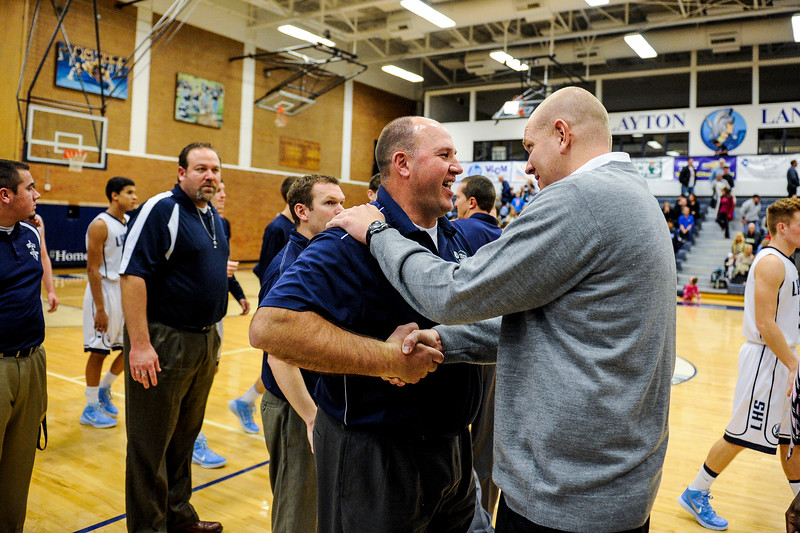 The Layton Lancers defeated the Syracuse Titans 65-38 at Layton High School in Layton on January 3, 2015.