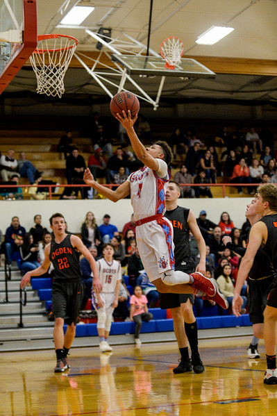 The Ben Lomond Scots hosted the Ogden Tigers in a heated rivalry game at Ben Lomond High School, in Ogden, on Wednesday, February 14, 2018.