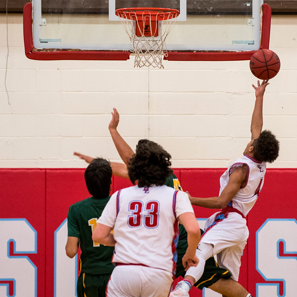 Ben Lomond's aggressive defense and full court press was the story of the game, allowing the Scots to take a 32 point lead over St. Joseph going into half time and finished the game 72-34.