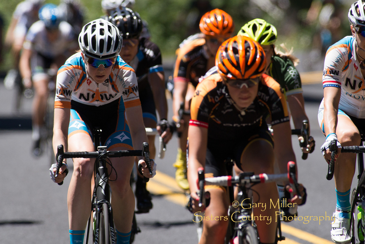 2013 Cascade Cycling Classic's Wednesday 73 mile McKenzie Pass Road Race stage ran through Sisters, Oregon to Three Creeks Snow Park - Copyright © 2013 Gary N. Miller, Sisters Country Photography