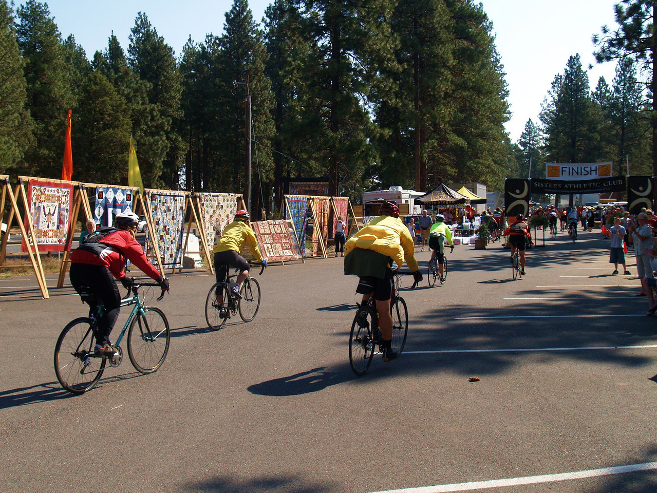 Cycle Oregon 2007 - Finish day in Sisters