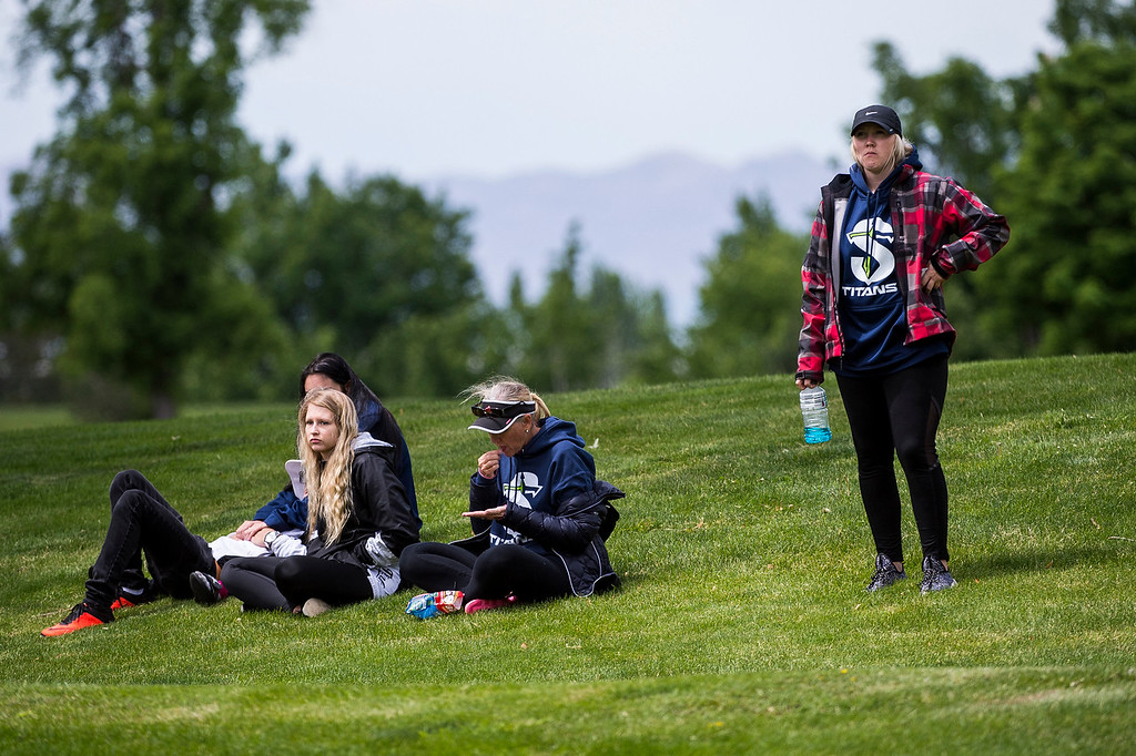 The Davis Park Golf Course hosted the 5A girls golf state championships in Kaysville, on Tuesday, May 16, 2017.