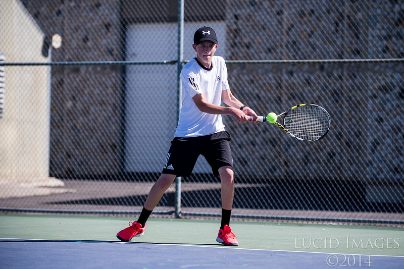 The Fremont High boys tennis team won all three singles matches against Roy High, at Roy High School, in Roy, on Thursday, May 4, 2017.