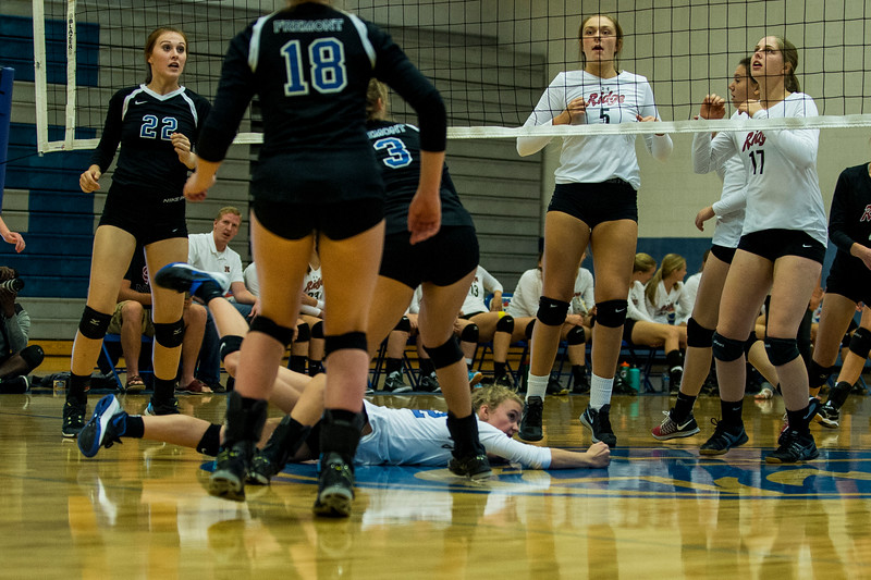 The Northridge Knights took on the Fremont Silver Wolves during a prep volleyball match at Fremont High School, in Farr West, on September 20, 2016.