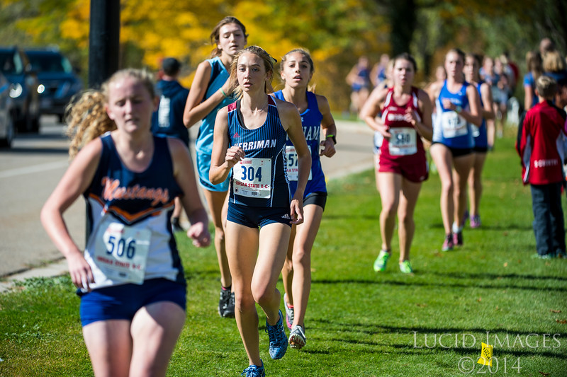 The Utah State High School Cross Country Championships took place at Sugar House park in Salt Lake City, on October 19, 2016.