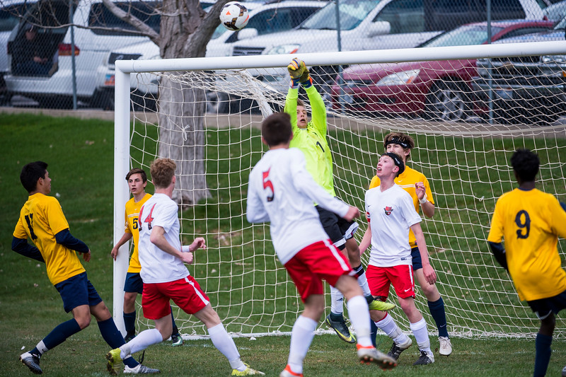 Weber High kept the pressure on much of the game with the ball in Bonneville's territory and many good looks at the goal, allowing them to win 2-0 at Weber High School, in Pleasant View, on Tuesday, March 28, 2017.
