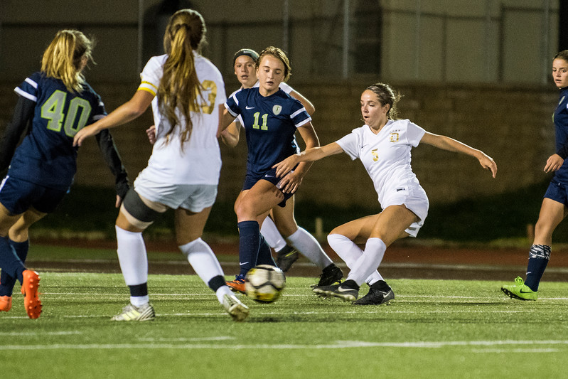 Davis won in dramatic fashion with a penalty kick in the final minutes of overtime to claim the victory 2-1 over Syracuse, at Davis High School, in Kaysville, on Tuesday, September 26, 2017.