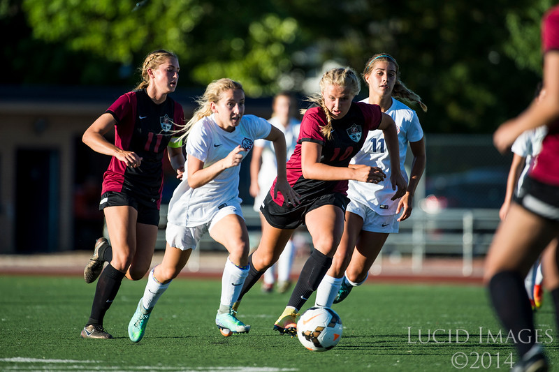 The Woods Cross girls soccer team defeated Viewmont 4-1 in a preseason soccer tournament at Woods Cross High School in Woods Cross on August 11, 2016.
