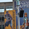May 9, 2015<br /> <br /> ZACH RANDOLPH'S BANNER<br /> Memphis Grizzlies<br /> FedEx Forum<br /> Memphis, TN