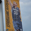 May 9, 2015<br /> <br /> MARC GASOL'S BANNER<br /> Memphis Grizzlies<br /> FedEx Forum<br /> Memphis, TN