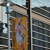May 9, 2015<br /> <br /> NICK CALATHES'S BANNER<br /> Memphis Grizzlies<br /> FedEx Forum<br /> Memphis, TN