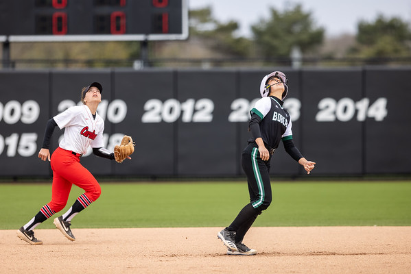 Ball State softball defeats Ohio in Friday doubleheader opener 4-2.Photo by Tony Vasquez for Indy Sports Daily.