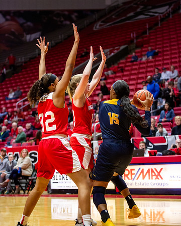 Ball State University women's basketball vs. Toledo at Worthen Arena on February 23, 2019. Photo by Tony Vasquez for Indy Sports Daily