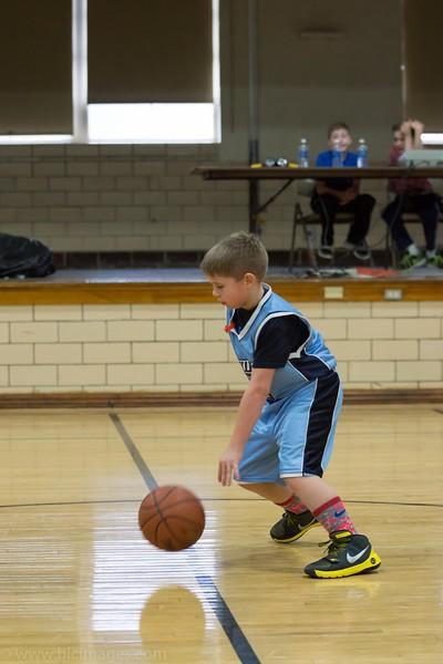 Upwards basketball Greenville 1-31-16 3rd Grade