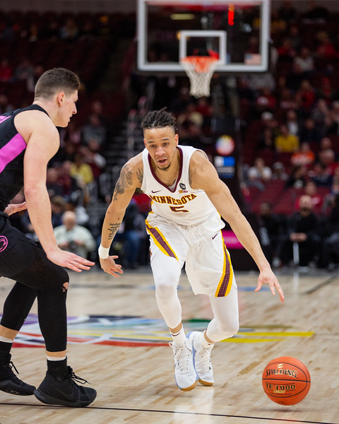 Penn State vs. Minnesota at the United Center in Chicago, Illinois on March 13, 2019. Final score Minnesota 77 - Penn State 72 (OT) Photo by Tony Vasquez for Indy Sports Daily.