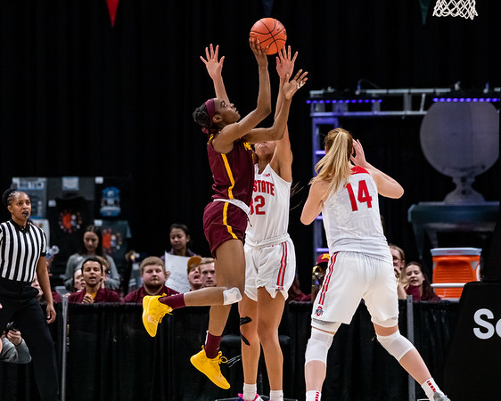 Minnesota vs Ohio State at Bankers Life Fieldhouse in Indianapolis, Indiana on March 5, 2020. Final score Ohio State 77 - Minnesota 56. Photo by Tony Vasquez for Indy Sports Daily