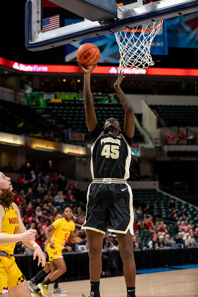 Purdue vs Maryland at Bankers Life Fieldhouse in Indianapolis, Indiana on March 6, 2020. Final score Purdue 62 - Maryland 74. Photo by Tony Vasquez for Indy Sports Daily
