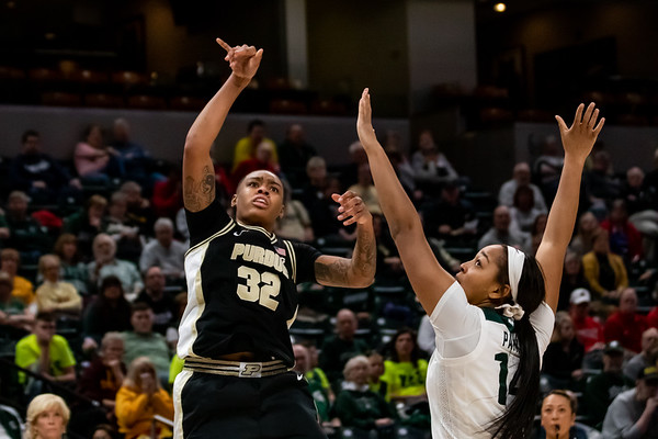 Purdue vs. Michigan State at Bankers Life Fieldhouse in Indianapolis, Indiana on, March 4, 2020. Final score Purdue 72 - Michigan 63. Photo by Tony Vasquez for Indy Sports Daily.