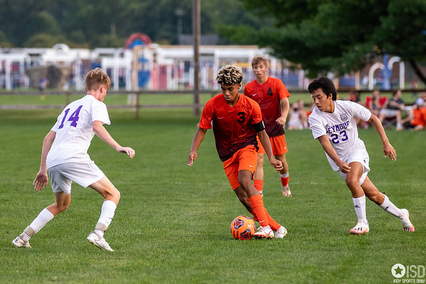 The Columbus East Olympians tied with the Seymour Owls final score 0 - 0. Photo by Tony Vasquez for Indy Sports Daily.